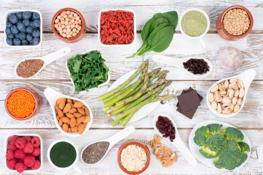 Stress countering foods