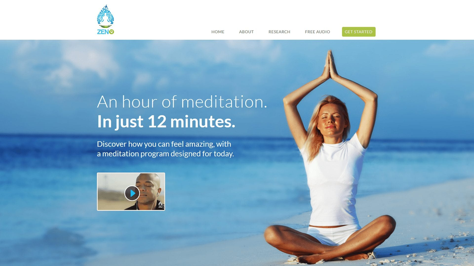 My Zen12 Review: 1 Hour Of Easy Meditation In 12 Minutes?