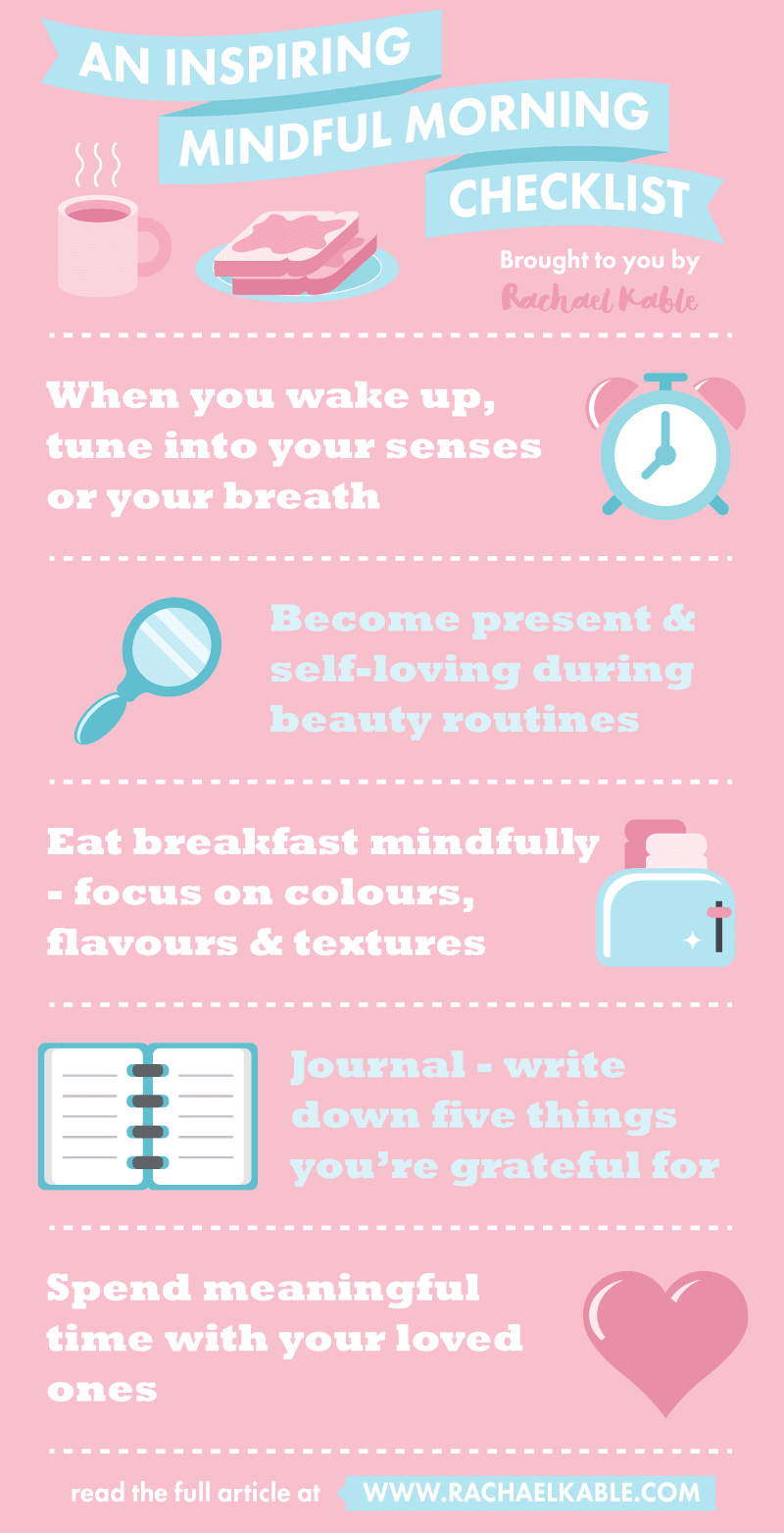 Mindful Morning Checklist